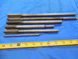 6pcs Hss Chucking Reamers Cutting Dias Include About 7/32 5/8 23/32 And Others