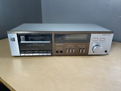 Vintage Realistic - Sct-500 Stereo Cassette Tape Deck - Tested/working