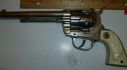 Hubley Cowboy Cap Gun - Works - Toy From The 1950's