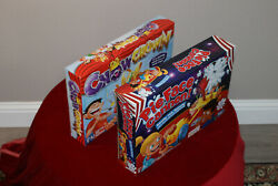 New Hasbro Chow Crown And Pie Face Cannon Game Bundle Interactive Party Games