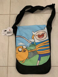 Adventure Time Finn And Jake Backpack Satchel Bag Costume Authentic New Sale