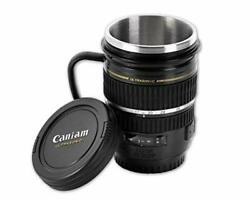 Ace Select Camera Lens Coffee Mug 220ml Stainless Steel Coffee Cup Camera Len...