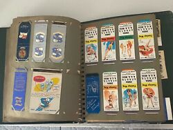 Lot Of 350 Vintage Military Matchbook Covers In Album/binder No Duplicates