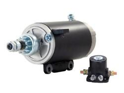 Starter And Solenoid Fits 73-95 Evinrude Marine Outboard 115 115hp 1791740-m030sm