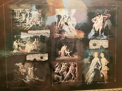 Charles Leeand039s Original Royalty Mixed Media Signed ... Bagatelle Opus 33 No. 6