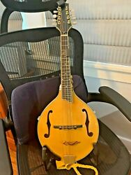 Red Line Mandolin With Extras