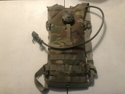 Used Molle Ii Hydration System Carrier Multicam Usgi Military Camo With Bladder