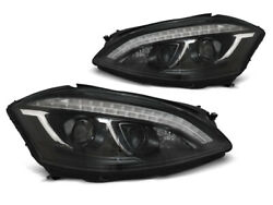 Projektor Forlygter For Mercedes W221 05-09 Daylight Look D1s Xenon Hid Sort Lpm