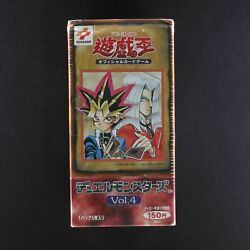 Yu-gi-oh Duel Monsters Card Box Vol.4 Japanese Unopened F/s