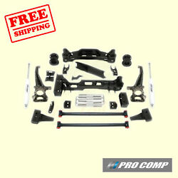 6 Lift Kit W/front Strut Spacers And Rear Es Shocks 09-14 Ford F-150 4wd Pro Comp