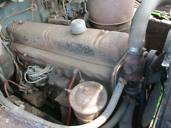 1948 Buick Super 248 Engine Motor Complete Air Cleaner To Pan Unmolested