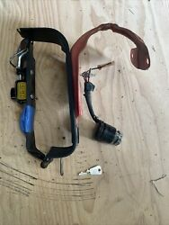 1983 Honda Trail Ct90 Ct110 Aux Sub Gas Tank Strap Mount And Bracket And Ignition
