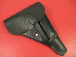 Wwii German Pebble Texture Leather Flap Holster For Walther P38 Pistol - Xlnt