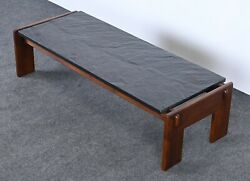 Walnut And Slate Coffee Table By Adrian Pearsall For Craft Associates 1960s