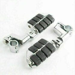 Motor Chrome Front Foot Pegs Footrest For Honda Gl1800 Goldwing Aj2 2002-10
