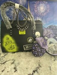Loungefly The Haunted Mansion Disney Parks Crossbody Set $110.00