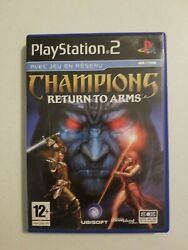 Champions Return To Arms Sony Playstation 2, 2005 Pal French Version