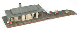 Rural Freight Transfer Station Extra Detailed Built Up Weathered N Scale