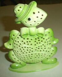 Standing Metal Turtle By Revere Vintage Made In Usa 4 3/4 Tall See Picand039s
