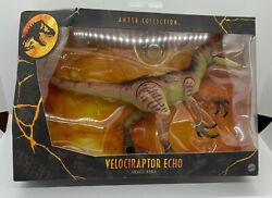 Brand New And Sealed - Jurassic World Amber Collection Velociraptor Echo