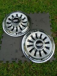 14 1967 Ford Falcon Oem Hubcaps Wheelcovers 1 H617 Pc7dz1130c Fits Trailers