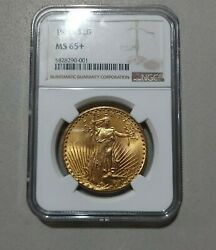 1926 Ngc Ms65+ Saint Double Eagle 20 Gold Uncirculated 5828290-001 Better Date
