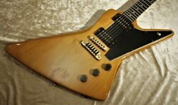 Gibson Explorer Ii E/2 1979 Vintage Made In Usa Natural Used Electric Guitar