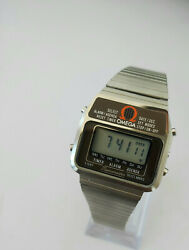 1978and039s Rare Omega Memomaster Lcd Digital Watch Vintage