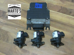 Oem Polaris Tested 2001 And 2002 Virage Txi 1200 Emm Ecu And 3 Matching Injectors