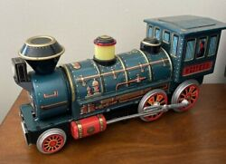 Vintage Japan Battery Operated Western Special Tin Train Modern Toys