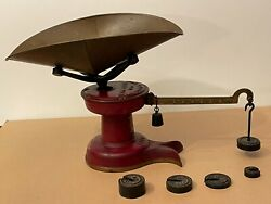 Howe Scale 1880s General Store 8lb Dry Goods Scale