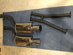 1990-1996 Nissan 300zx Greddy Sp1 Exhaust Discontinued 2+0 Only