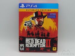 Red Dead Redemption 2 - Ultimate Edition W/ Map Playstation 4 / Ps4