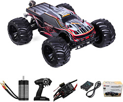 110 Scale Remote Control Car Truck, 80+ Km/h High Speed Rtr Rc Truck, 2.4ghz Ra