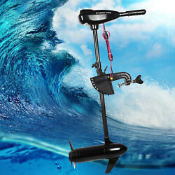 85lbs Electric Boat Troller Motor Mounting Boat Outboard Propeller Brush Engine