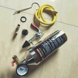 Auto Air Conditioning Pipe Cleaner Bottle A/c Flush Maintenance Clean Tool Kit