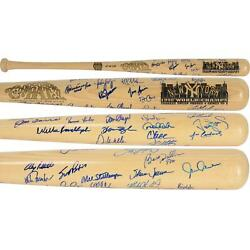 1998 New York Yankees Signed Cooperstown Baseball Bat With 28 Signatures - Jsa