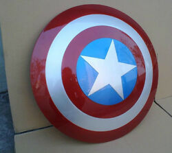 Captain America Life Size Cosplay Shield Abs 1/1 22in Huge Super Rare Lqqk