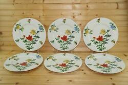 Castleton Ma Lin 6 Dinner Plates By Ching-chih Yee | Usa Discontinued