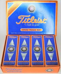 12 Titleist Hvc Tour Sf Golf Balls Softer More Responsive Feel Free Shipping