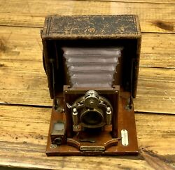 Antique Unicum Rochester Camera Cycle Poco N°3 — Sears And Roebuck — 1899-1901