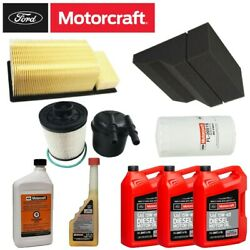 Motorcraft Total Air/fuel/oil Service Kit And Additives For 11-16 6.7l Powerstroke