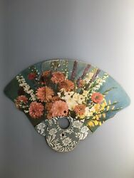 Rare Antique Vintage Faust Funeral Home Hulmeville Pa Fan Advertising