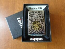 Very Rare 2007 Limited Zippo Lighter Logo Firearms Smith And Wesson Pat. 2032695