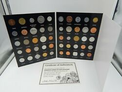 Wonderful World Of Coin Collecting 50 Coins 50 Countries With Coa Morgan Mint