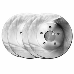 For 2001-2006 Bmw M3 Hart Brakes Front Rear O.e Replacement Brake Rotors