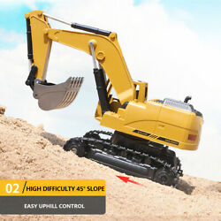 Remote Rc Construction Grapple Fork 8 Channel Radio Controlled Digger Tractor