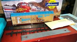 Ho Scale Athearn Bev-bel Millennium Series Happy New Year 50and039 Reefer Kit 20013