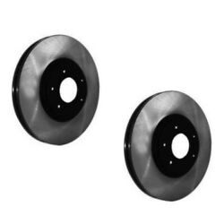 Set-ce12080014-2 Centric 2-wheel Set Brake Discs New For Chevy Lh And Rh Chevrolet