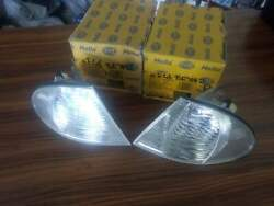 Bmw E46 L And R Pair Clear Turn Signal Hella By Bosch In Box..free Shipping